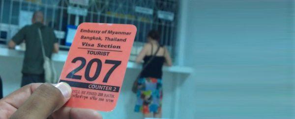Comment obtenir un visa Birmanie et combien cela coûte?